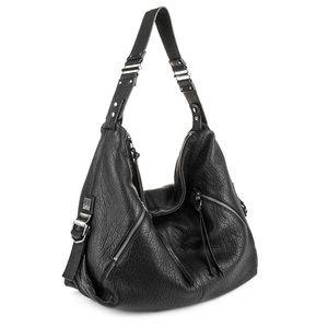 Kooba ' Lauren' Leather Zip Hobo Bag